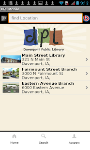 Davenport Public Library- screenshot thumbnail