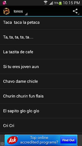 【免費娛樂App】Tonos de Chespirito-APP點子