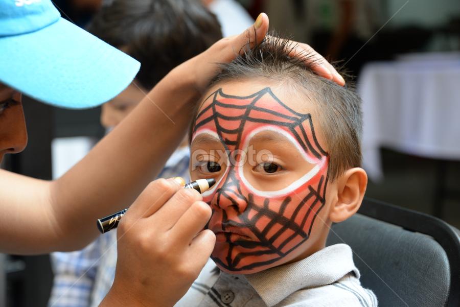 Spider Boy by Mario DeLara - Babies & Children Children Candids (  )