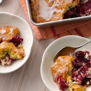 Triple Berry Pie Cake