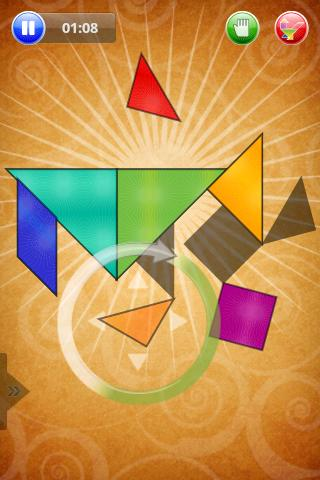 Tangram- screenshot
