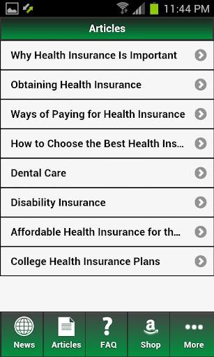 Health Insurance Au 玩書籍App免費 玩APPs