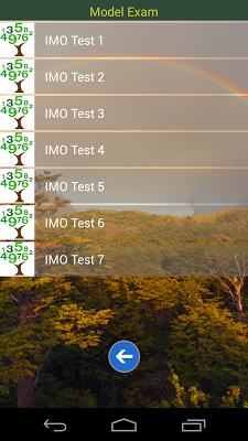 IMO 7 Maths Olympiad - screenshot