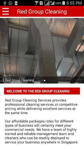 Red Group Cleaning