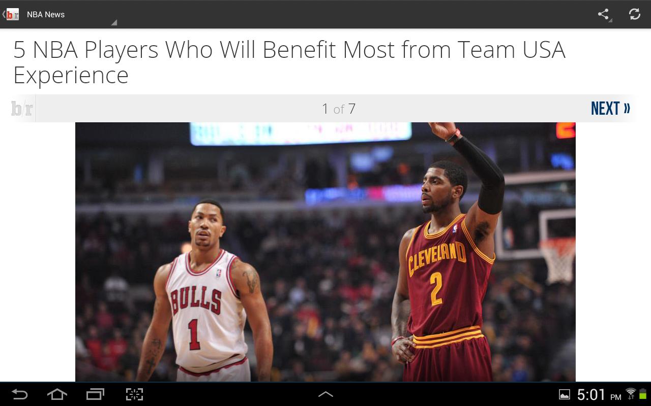 Team Stream by Bleacher Report - screenshot