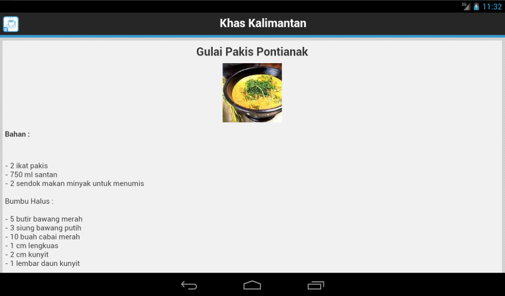 Resep Masakan Kalimantan - screenshot