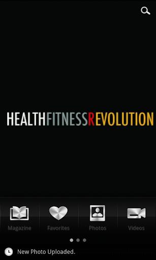 Health Fitness Revolution