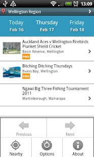 NZ Events - screenshot thumbnail