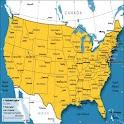 US States,Capitals & Nicknames logo
