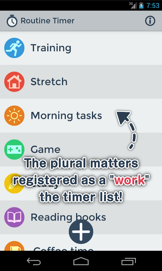 Routine Timer - Sequence Timer- screenshot