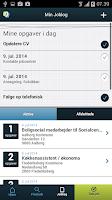 Screenshot of Jobnet App