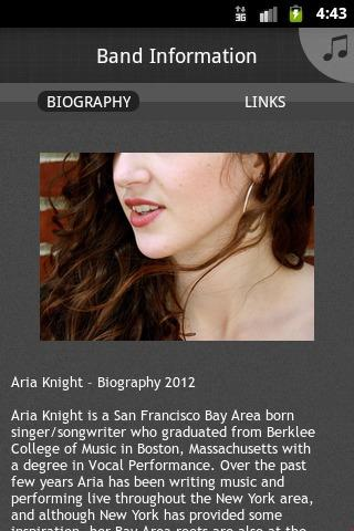 Aria Knight - screenshot