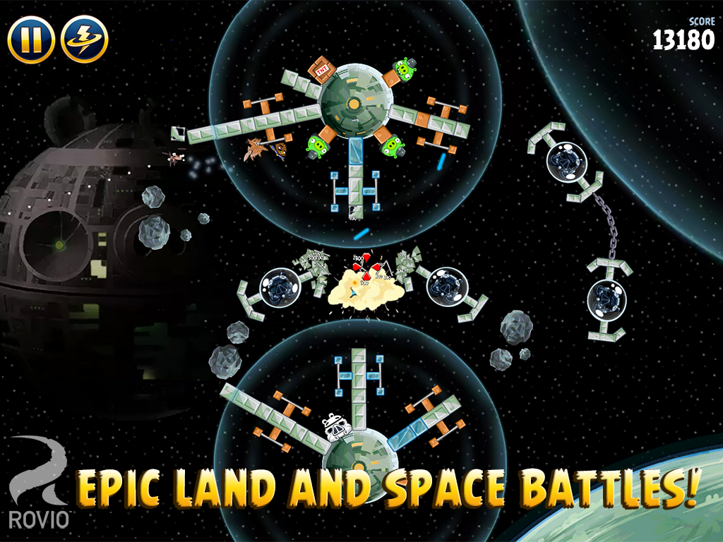 Angry Birds Star Wars HD screenshot #14