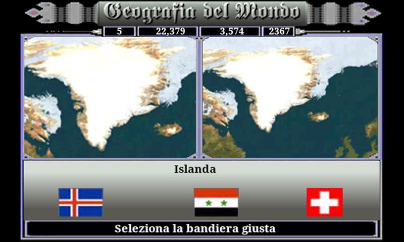 Geografia del Mondo- screenshot