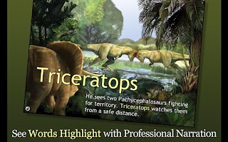 Screenshot of Triceratops Gets Lost