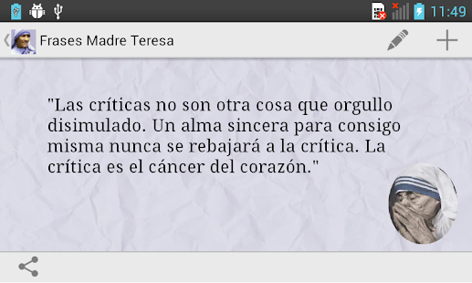 Frases de la Madre Teresa - screenshot thumbnail