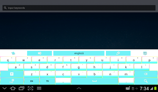 Color Keyboard Theme- screenshot thumbnail