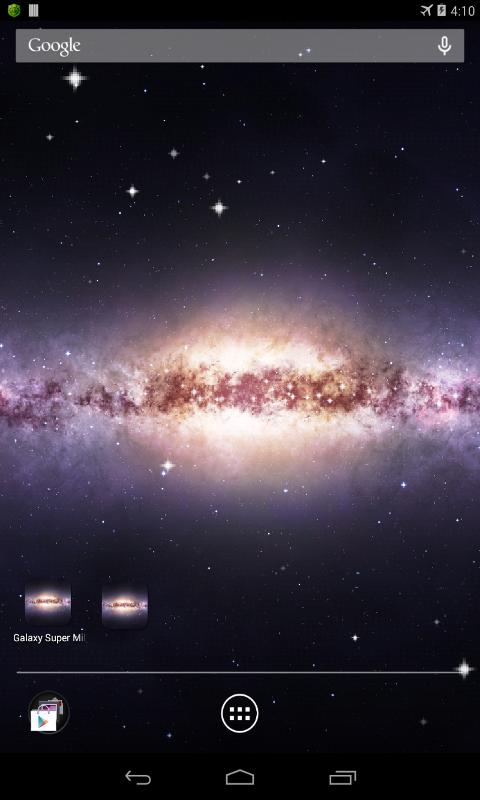 milky way galaxy live wallpaper - photo #9