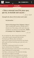 Screenshot of Aelf - Lectures du jour