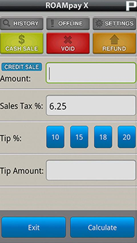 PaymentMax Credit Card Reader - screenshot