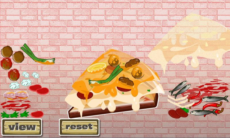 Cheesy Pizza Designer- screenshot
