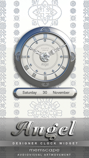 ANGEL Designer Clock Widget