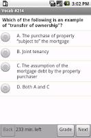 Screenshot of Real Estate Vocabulary Quiz