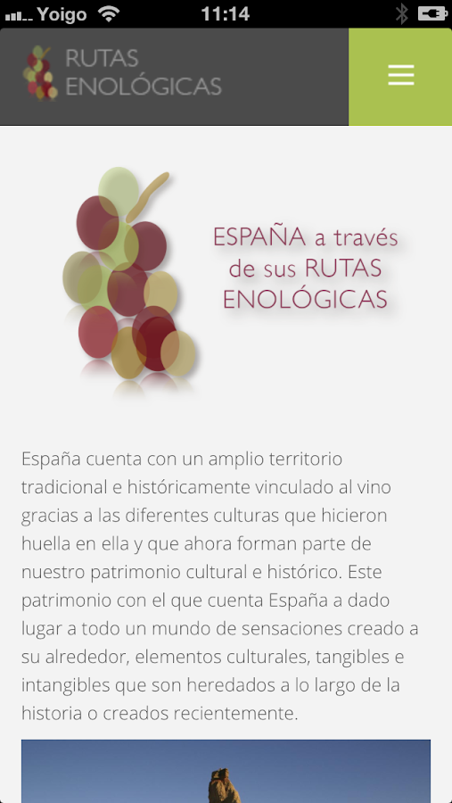 Rutas Enológicas - screenshot