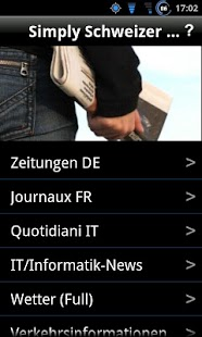 Simply Schweizer News Free - screenshot thumbnail