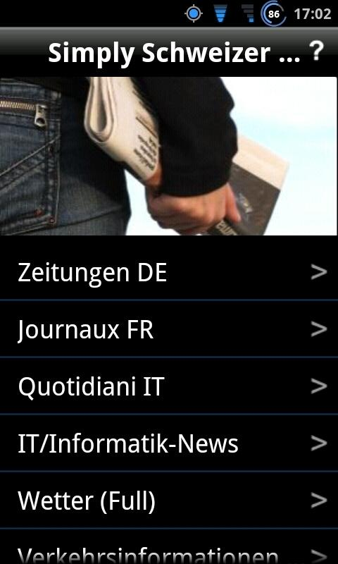 Simply Schweizer News Free- screenshot
