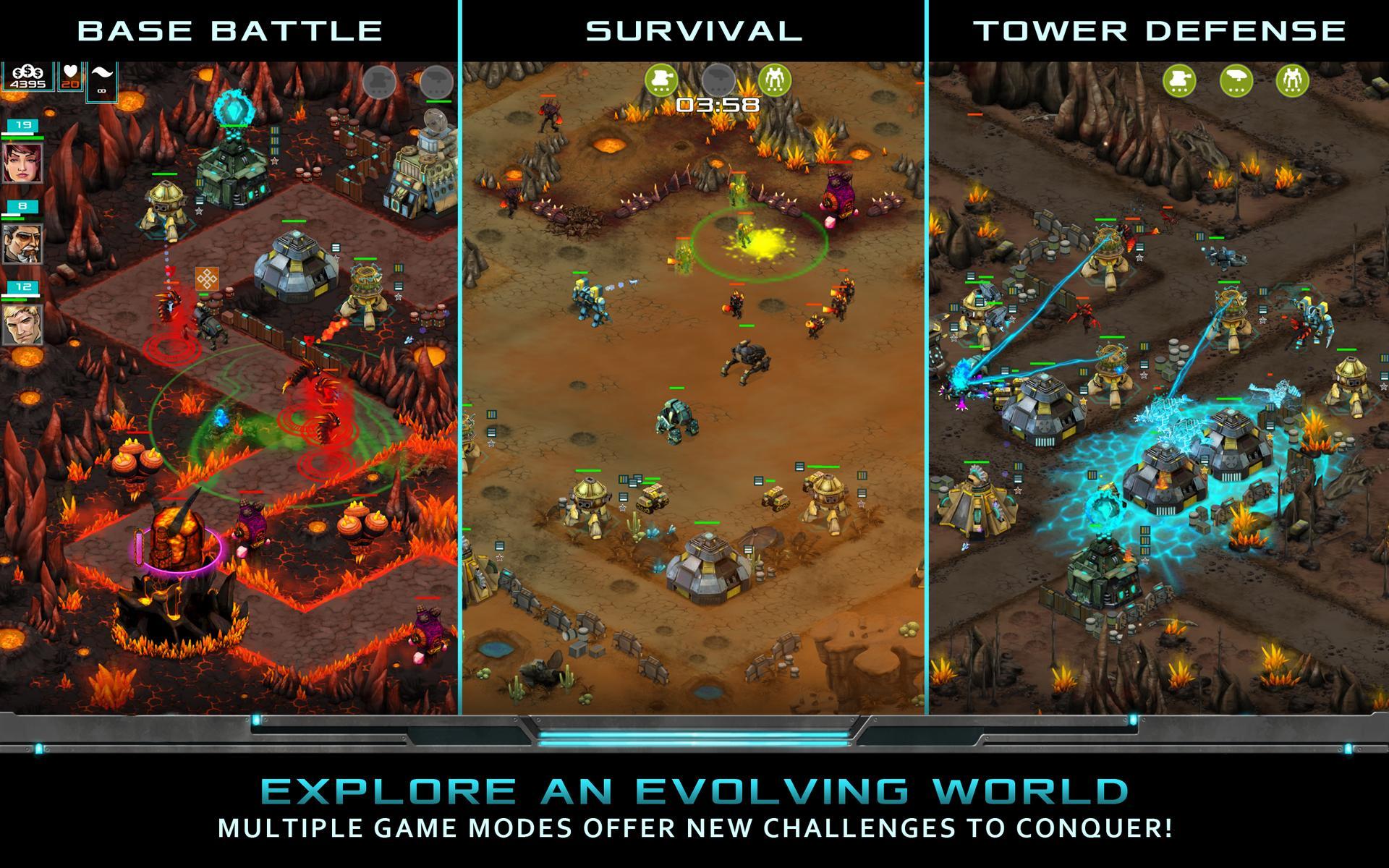 Nitropia: War Commanders screenshot #12