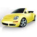Toddler Kids Car Toy Beetle icon