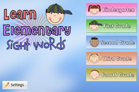 Learn Elementary Sight Words- screenshot