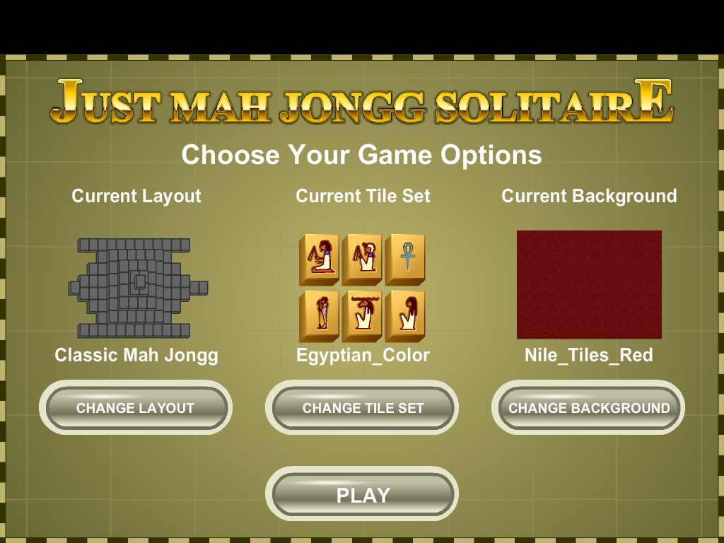 Mah Jongg Solitaire - screenshot