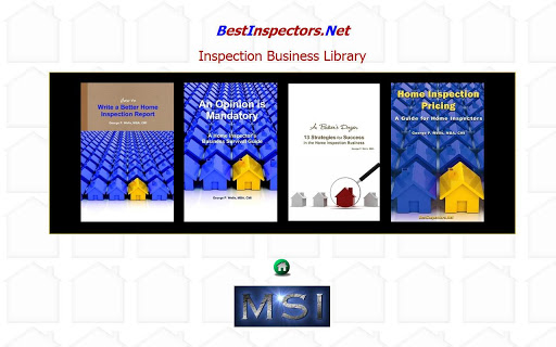 Home Inspection Business Books