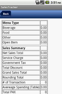 Bersian Sales Tracker- screenshot thumbnail