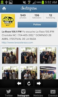 La Raza 106.1 FM - screenshot thumbnail