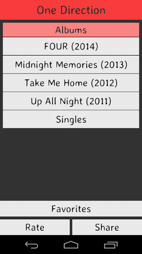 Download One Direction Lyrics Google Play softwares