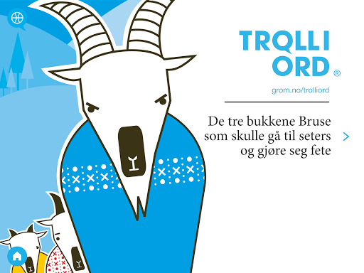 Troll i ord Billy Goats Gruff