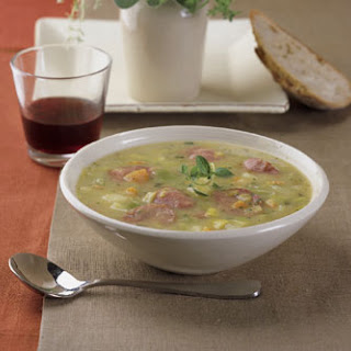 Sausage and Leek Soup.