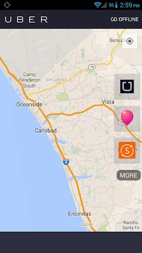 Driver Bar Uber Lyft Sidecar