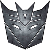 Decepticon Analog Clock Widget