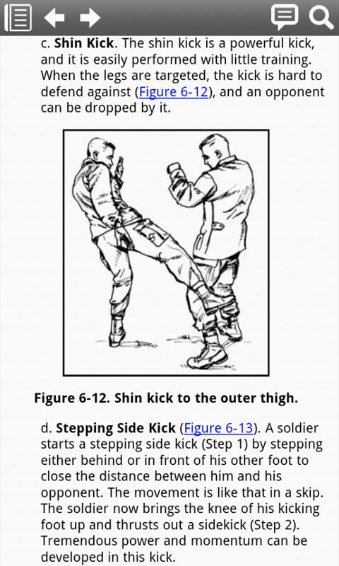 Army COMBATIVES FM3-25.150 - screenshot
