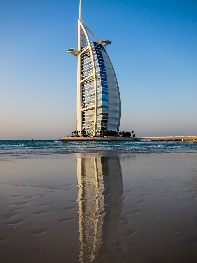 Burj al Arab beach by Marcel Eringaard - Buildings & Architecture Office Buildings & Hotels ( dubai, burj al arab,  )