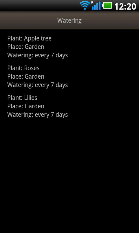My Garden Lite - screenshot