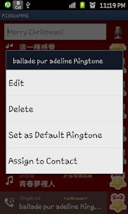 RINGME xMAS Ringtone Maker- screenshot thumbnail
