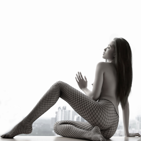 By The Window by Richard Ho - Nudes & Boudoir Boudoir ( artistic nude,  )
