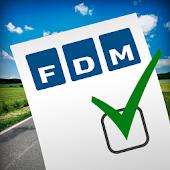 FDM slutseddel