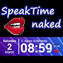 SpeakTime Naked widget icon