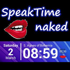 SpeakTime Naked widget 個人化 App LOGO-APP試玩